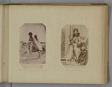 Turcmène, sa femme et son bourriquet