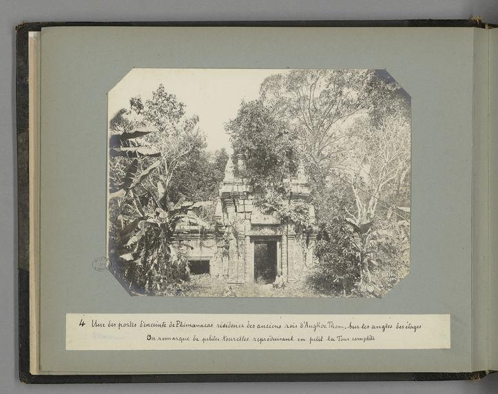 4 Une des portes d'enceinte de Phimanacas