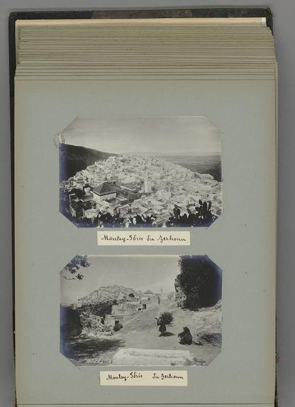 Sans titre [album de photographies de voyage]