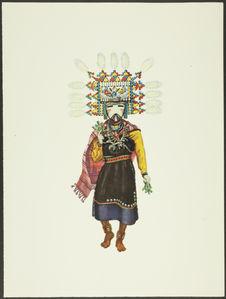 Plate XIV. Hemis Kachina