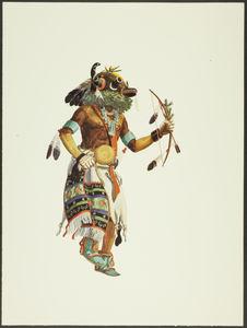 Plate XX. Movitkuntaqa Kachina
