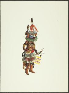 Plate XXI. Siyangephoya Kachina