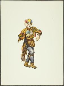 Plate XXVII. Kwikwilyaqa Kachina