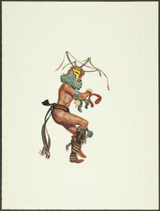 Plate XXVI. Huhuwa Kachina