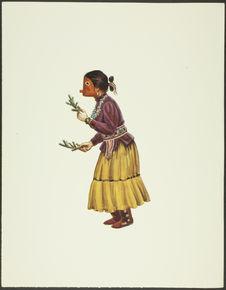 Plate XXIV. Navan Kachina