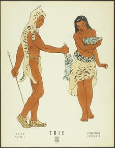 Plate No.4. Indian. Erie. Pennsylvania, Iroquois