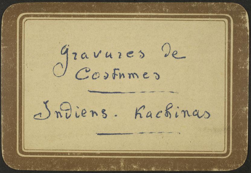 Plate No.10. Indian. Tuscarora. Pennsylvania, Iroquois