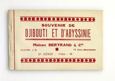 Souvenir de Djibouti et d'Abyssinie