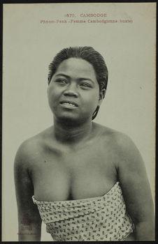 Femme cambodgienne (buste)