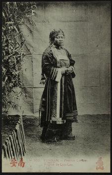 Femme Lo-Lo, région de Lou-Lan