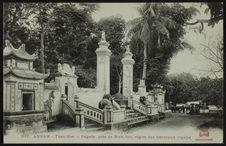 Pagode, près de Binh-Son, région des tombeaux royaux