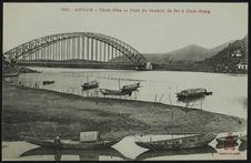 Pont du chemin de fer à Ham-Rong