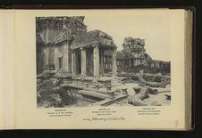 Angkor-Vat : péristyle de la Tour Centrale, l'enceinte extérieure
