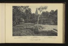 Angkor-Vat : terrasse en croix devant le Temple