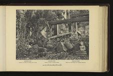Angkor-Thom : galerie à la base du Temple