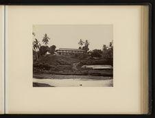 Sans titre [arrière de l'Hôtel Bellevue à Bogor]