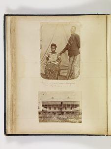 Douanier de Grand Basam, Sénégalais et Apollonienne