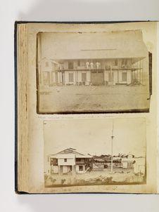 Grand Bassam, vu de l'ouest de la société coloniale