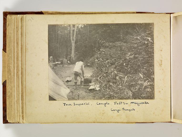 Four improvisé, Congolo, forêt du Mayumbe