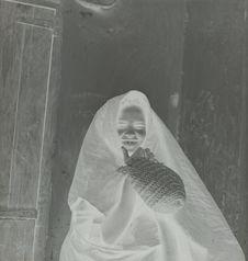 Maroc, Taroudant, Mokhazni [portrait d'une femme]