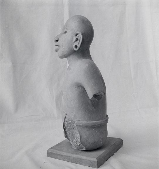 Sans titre [sculpture anthropomorphe]