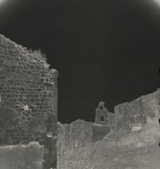 Tonkin Baie d'Along [des ruines]