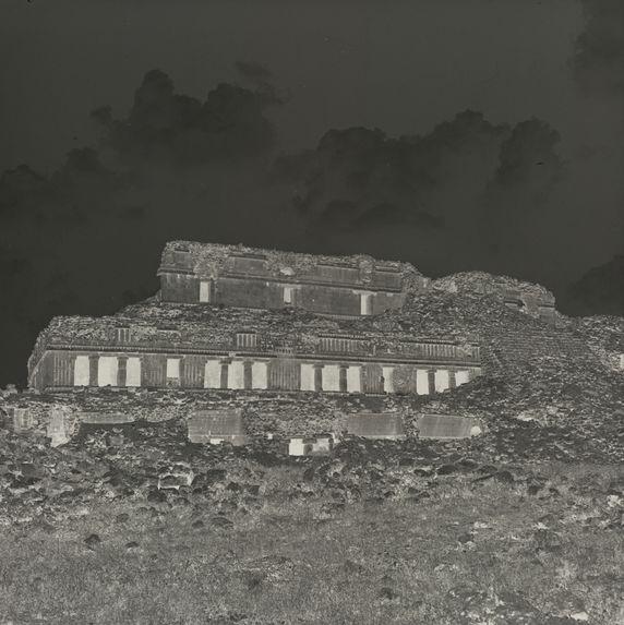 Ruines de Sayil, Grand palais, face sud