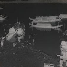 Sampans sur la rivière des Parfums