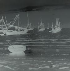 Flotille de jonques de mer