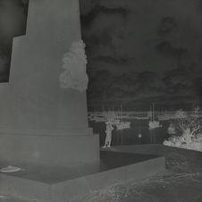 Monument élevé en honneur de l'Amphitrite