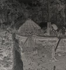 Un caribal entouré de parcelles cultivées