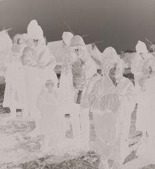 Groupe de Tsiganes nomades