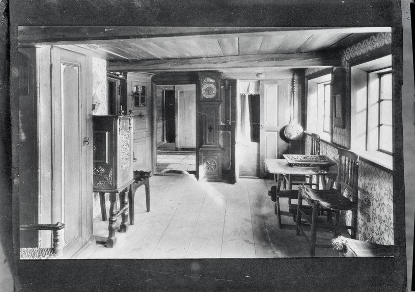 Intérieur d'une maison de pêcheur