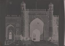 Façade principale du palais du Khan