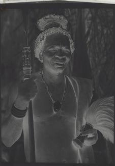 Un chef de la tribu des Bapende