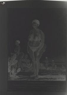 La Venus hottentote, gravure de 1815