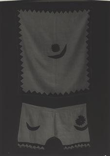 Cape et pantalon de sorcier