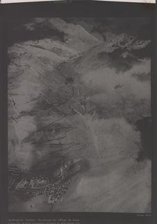 Vue aérienne d'Andermatt