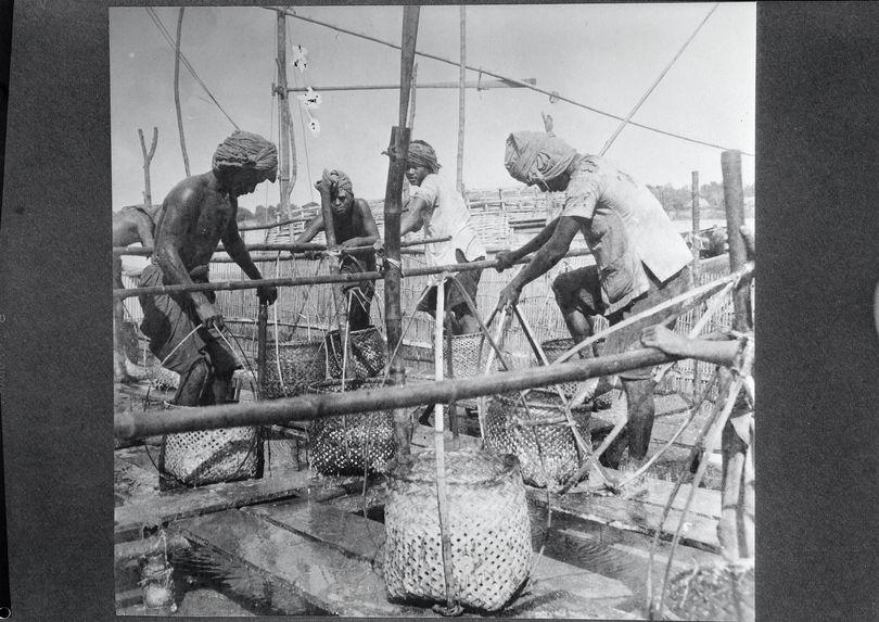 Sans titre [pêcherie sur le Tonlé-Sap]
