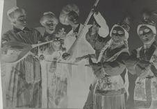Le groupe Kasakg, étudiants du Technicum Musical et dramatique d'Alma-Ata