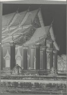 Façade orientale du sanctuaire