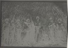 Le cacique, sa femme, l'héritier et autres parents