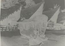 Sans titre [tombeau d'un Kampong Samosier près du lac Toba]