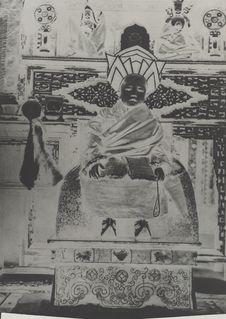 Le grand Lama de Lhabrang Tachikyil