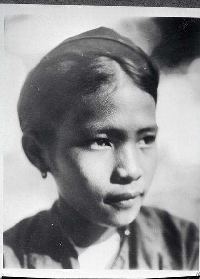 Jeune servante originaire de Nghe An