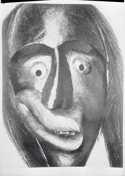 Masque Iroquois