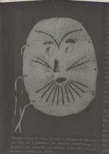Masque eskimo en peau de phoque (Musée Ethnologique Berlin)