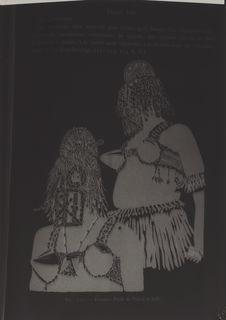 Masques de femmes Peul portés par des Dogon