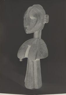Sans titre [sculpture représentant un buste d'homme]