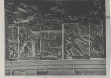 Décoration de la galerie supérieure du temple de Siva